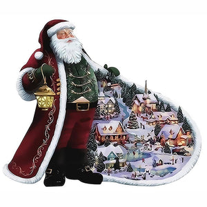Santa Claus Painting by Numbers