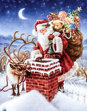Load image into Gallery viewer, Santa with Gifts Paint by Numbers