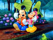 Load image into Gallery viewer, Mickey & Minnie Paint by Numbers
