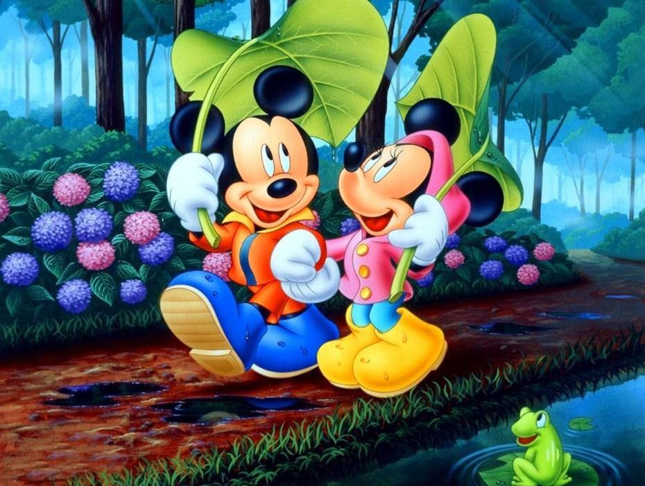 Mickey & Minnie Paint by Numbers