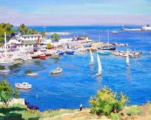 Load image into Gallery viewer, Sea View & Boats Painting Kit