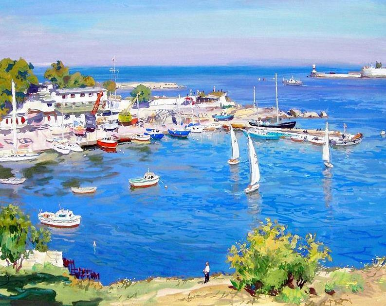 Sea View & Boats Painting Kit