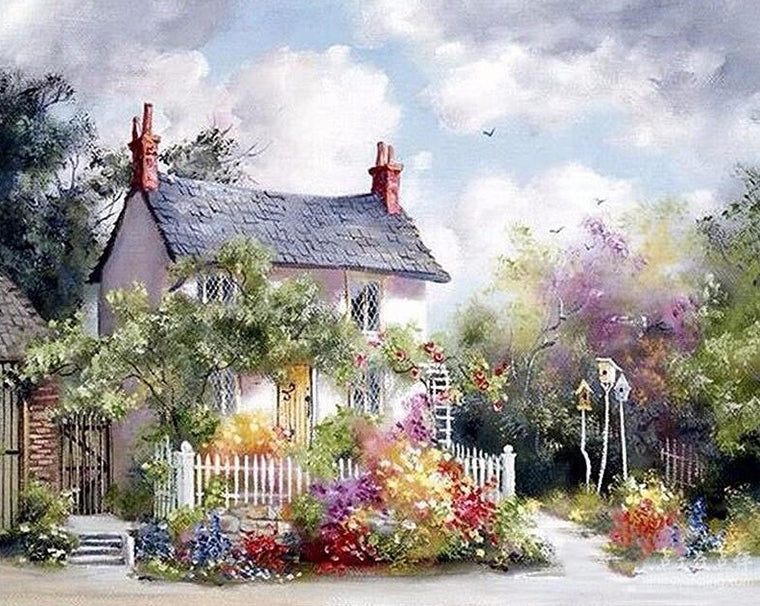 Beautiful House Paint by Numbers