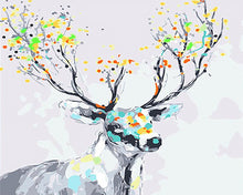 Load image into Gallery viewer, Fantasy Stag Paint by Numbers