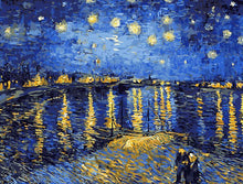 Load image into Gallery viewer, Starry Night Sky Paint by Numbers