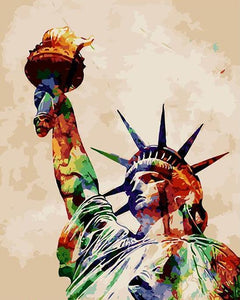 Statue of Liberty Paint by Numbers
