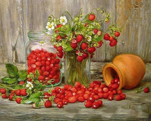 Load image into Gallery viewer, Strawberries DIY Painting Kit