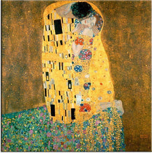Load image into Gallery viewer, Gustav Klimt Kiss DIY Painting Kit