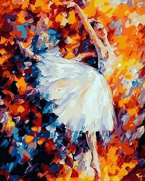 The Ballerina  Paint by Numbers