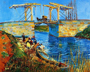 The Langlois Bridge Paint by Numbers