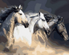 Stunning Horses Painting by Numbers