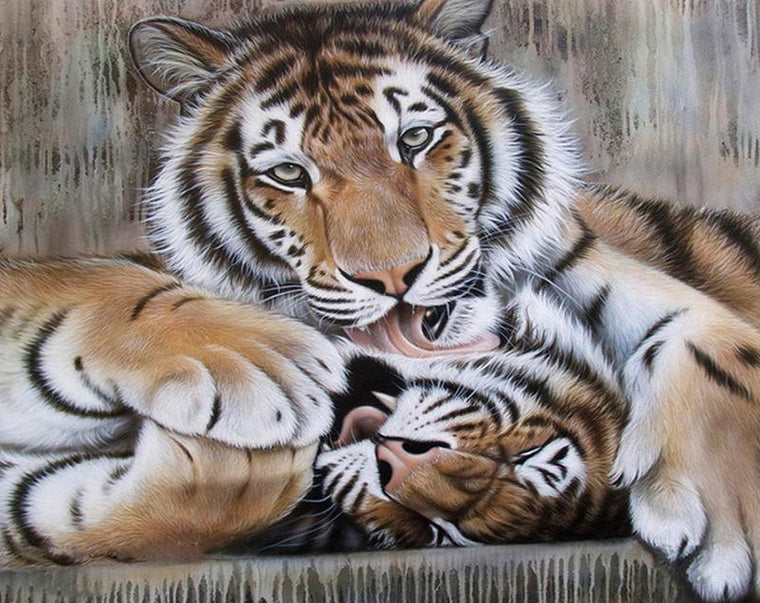 Tigers Love DIY Painting Kit