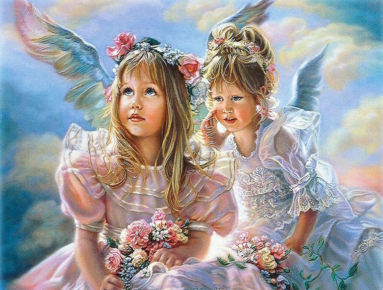 Angel Girls Paint by Numbers