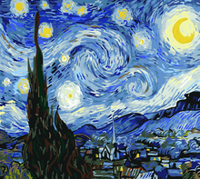 Load image into Gallery viewer, Van Gogh Starry Night Painting Kit