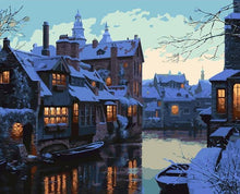 Load image into Gallery viewer, Venice in Winter Paint by Numbers