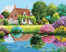 Load image into Gallery viewer, Beautiful Garden Paint by Numbers