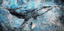 Load image into Gallery viewer, Whale Painting by Numbers