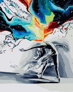 When Emotions Explode Paint by Numbers