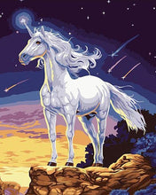 Load image into Gallery viewer, Unicorn Fantasy Painting by Numbers