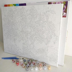 White Daisies Painting Kit [USA SHIPPING]