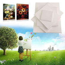 Load image into Gallery viewer, White Blank Wooden Canvas Frame For painting