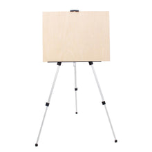 Load image into Gallery viewer, Silver Aluminum Portable Easel