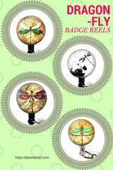 Dragonfly Badge Reels