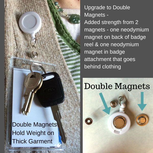 Double the strength new improved design for magnetic badge reels new improved design for magnetic badge reels solutioingenieria Gallery