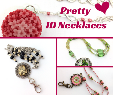 Pretty ID Necklaces