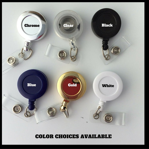 Badge Reel Color Choices