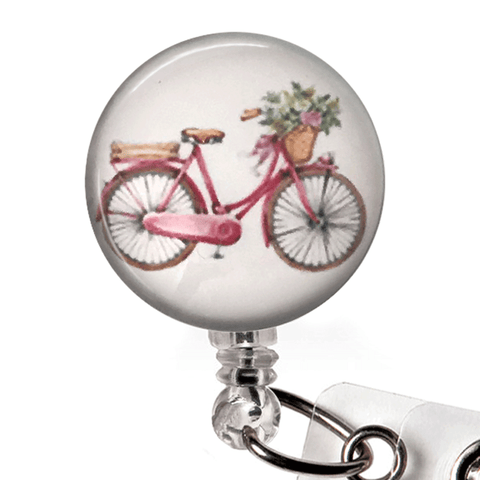 Bike badge reel