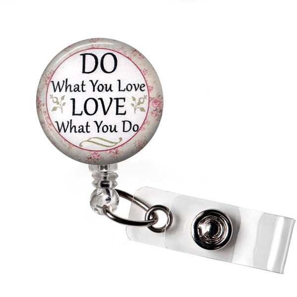 Inspirational Badge Reel - Do What You Love, Love What You Do