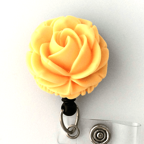 yellow rose badge reel