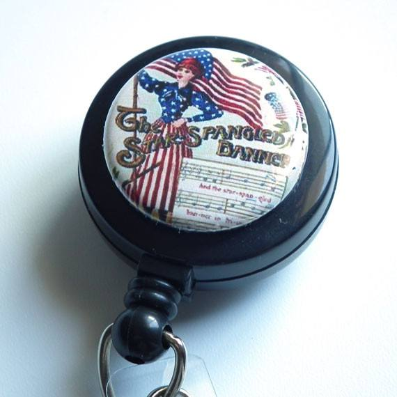 Star Spangled Badge Reel