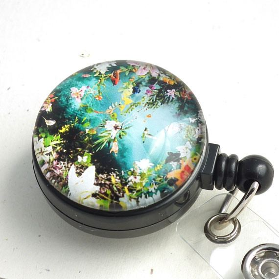 Flowers and Water Badge Reel