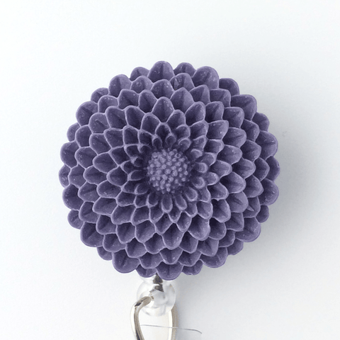 Purple Mum Badge Reel - Plum Beadacious