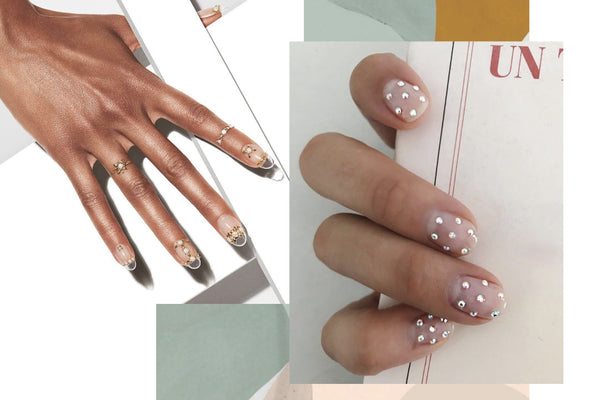 Bridal nail trends to die for