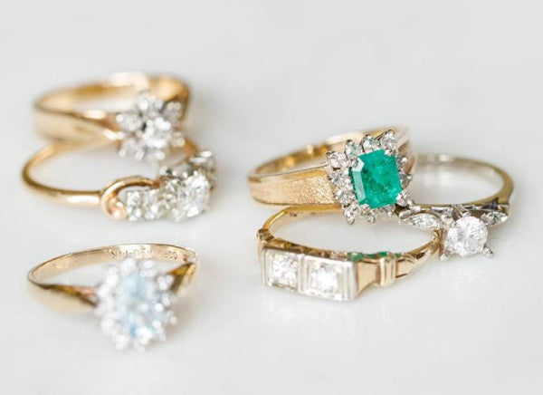 Our Favourite Vintage Wedding Rings
