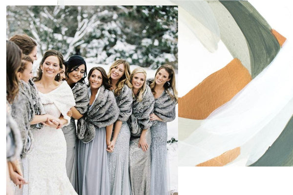 Our favourite winter wedding trends