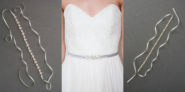 Bridesmaids Dresses with Sashes