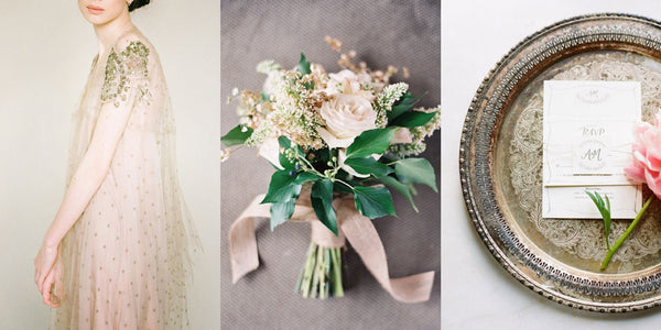 Wedding Palette in Shades of Neutral