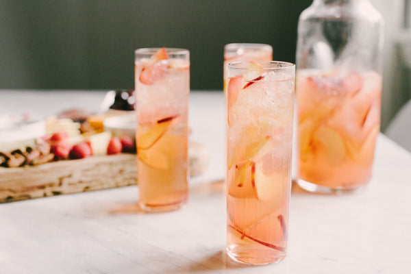 Summertime wedding cocktail inspiration