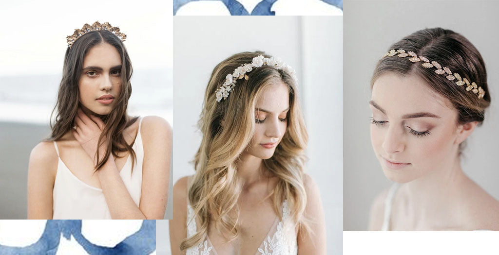 Bridal Floral Headbands Vancouver Davie and Chiyo