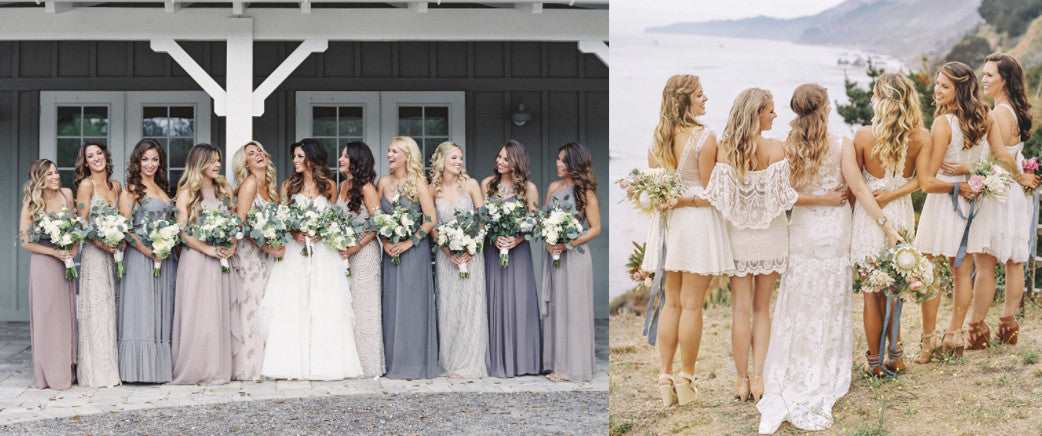 Bridesmaid dresses your besties will want to wear over and over again.