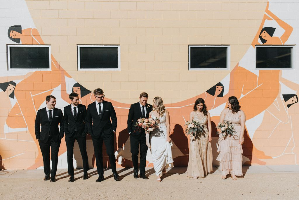Katrina Grabowski's gorgeous bridal party