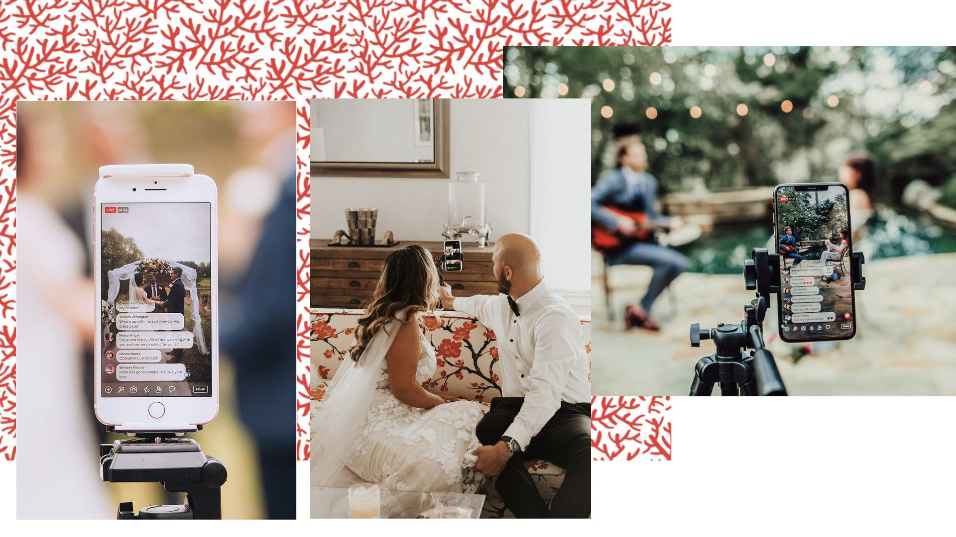 Livestream your wedding to include more family and friends