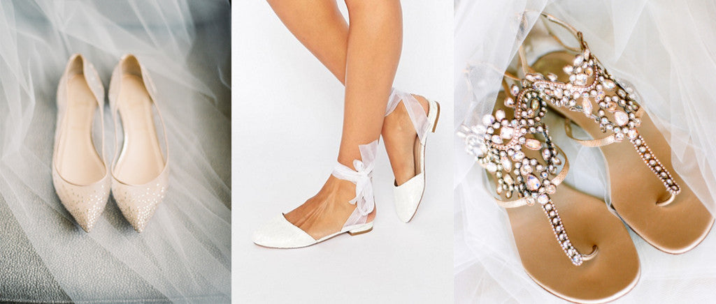e3a446ebccf 9 Alternatives to Wearing Sky-High Heels on Your Wedding Day – Davie ...