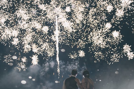 Leighton Bainbridge Vancouver wedding fireworks