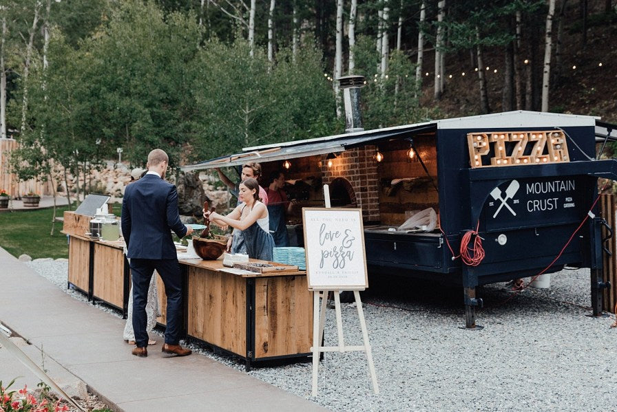 Vancouver Wedding Food Truck Meal Alternative Sit Down Dinner