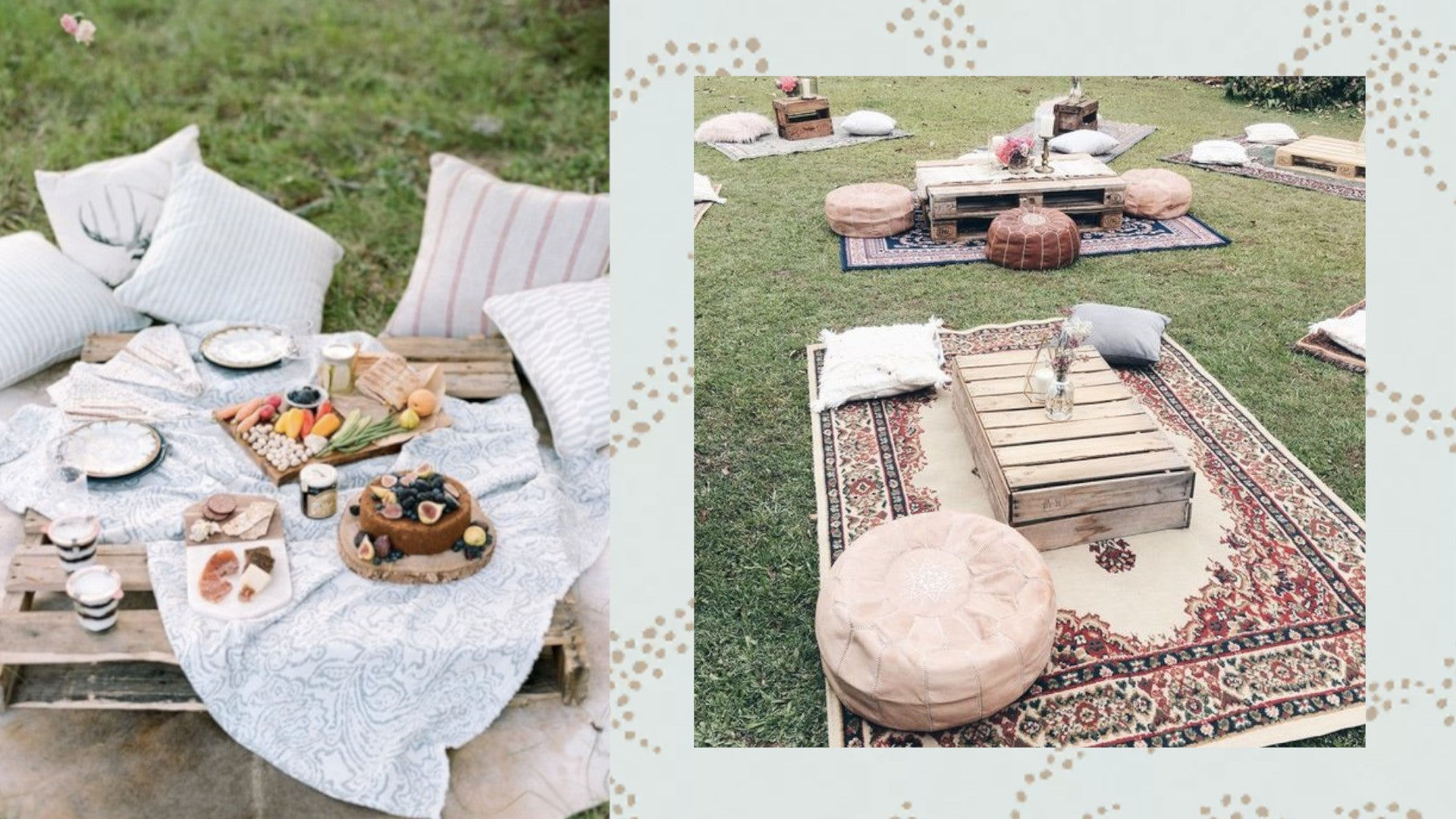 COVID-safe picnic backyard wedding on a budget